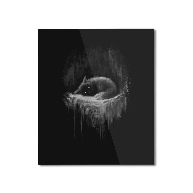 Fox Wish Home Mounted Aluminum Print by Fox Shiver's Artist Shop