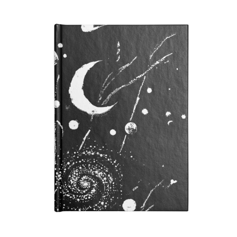 Space Botanica Accessories Blank Journal Notebook by Fox Shiver's Artist Shop