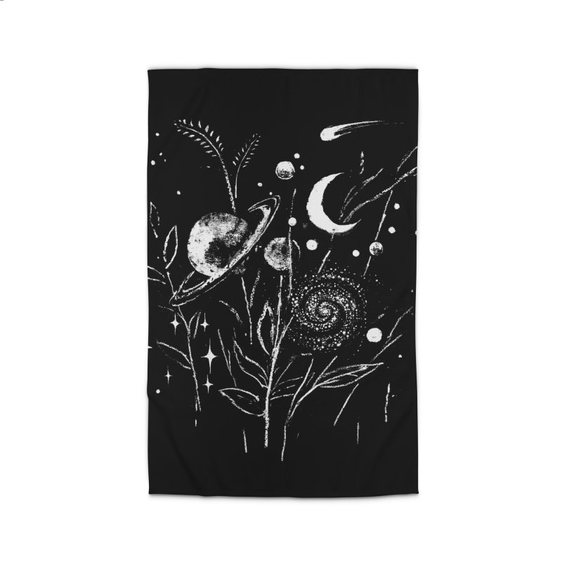 Space Botanica Home Rug by Fox Shiver's Artist Shop