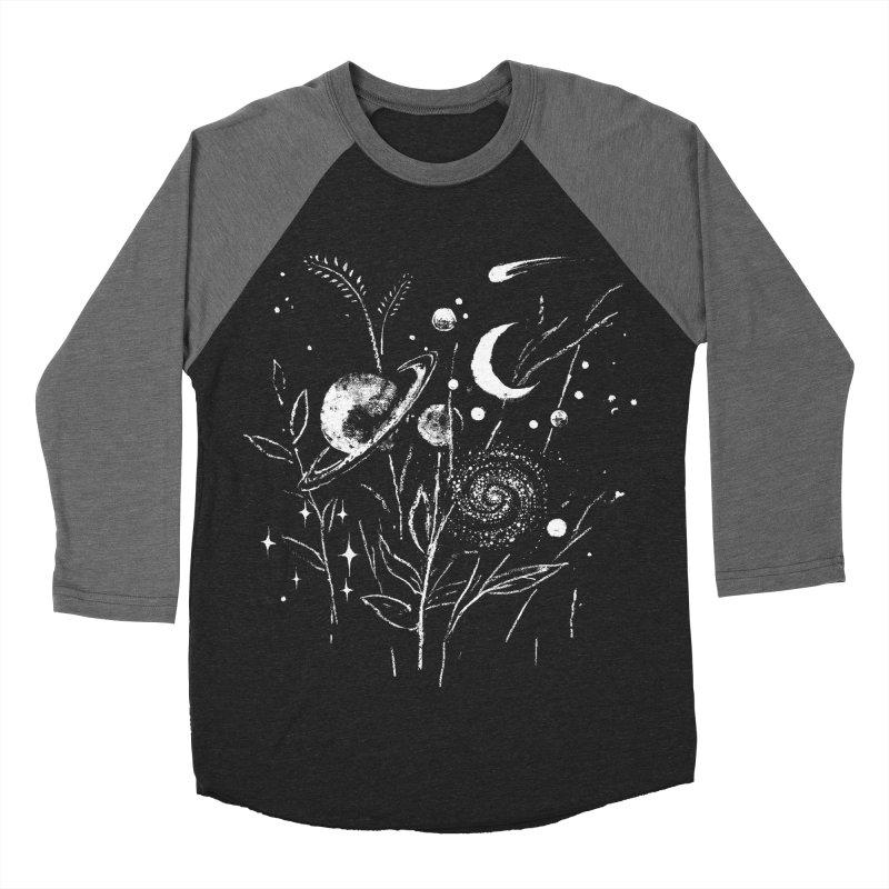 Space Botanica Women's Baseball Triblend Longsleeve T-Shirt by Fox Shiver's Artist Shop