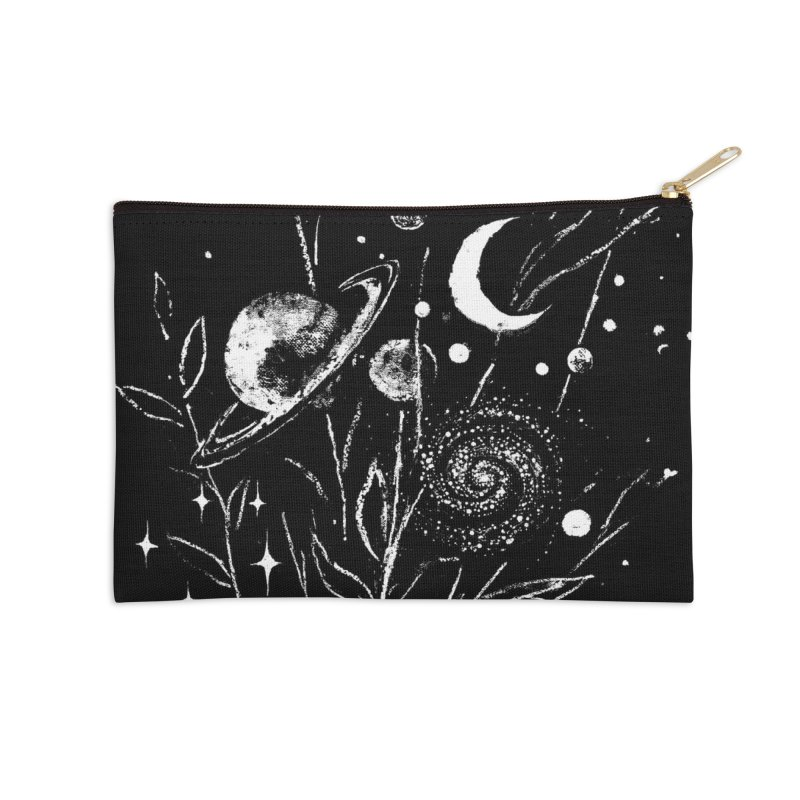 Space Botanica Accessories Zip Pouch by Fox Shiver's Artist Shop