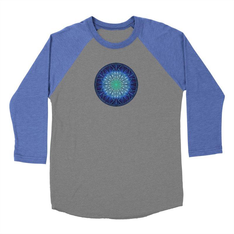 Beautiful Baby Blue & Powdered Fractal Snowflakes Women's Longsleeve T-Shirt by The Fractal Art of San Jaya Prime