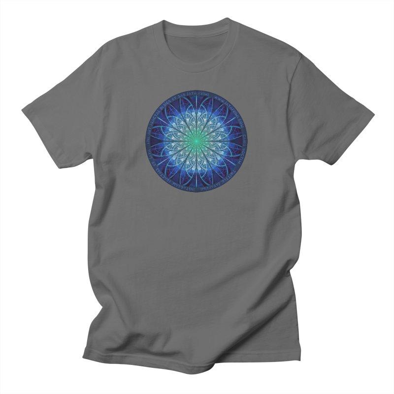 Beautiful Baby Blue & Powdered Fractal Snowflakes Women's T-Shirt by The Fractal Art of San Jaya Prime
