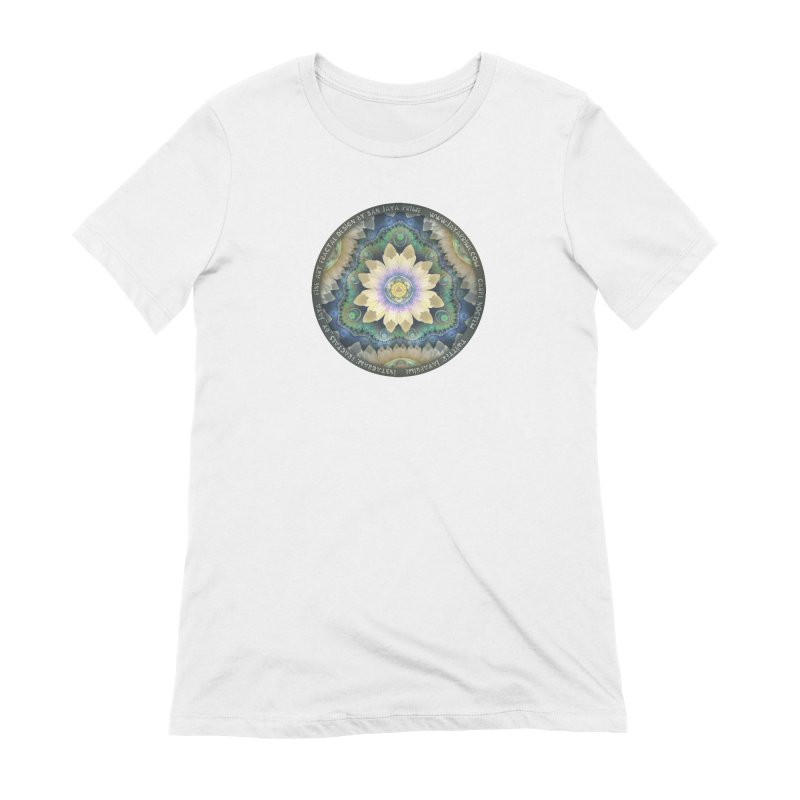 The Pastel Petals of Spring's First Lotus Blossom Women's Extra Soft T-Shirt by The Fractal Art of San Jaya Prime