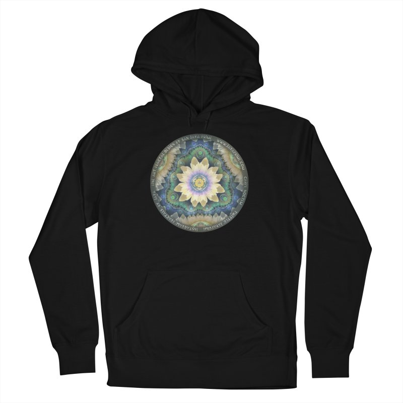 The Pastel Petals of Spring's First Lotus Blossom Women's French Terry Pullover Hoody by The Fractal Art of San Jaya Prime