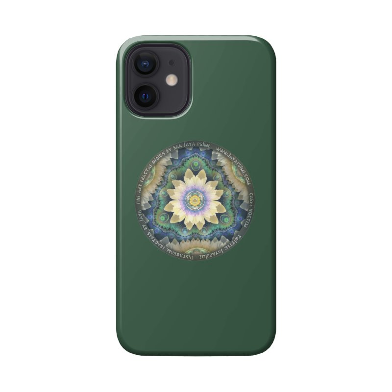 The Pastel Petals of Spring's First Lotus Blossom Accessories Phone Case by The Fractal Art of San Jaya Prime