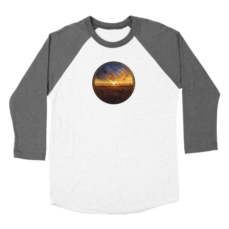 The Endless Sunset Over Our Golden Elysian Fields Women's Longsleeve T-Shirt by The Fractal Art of San Jaya Prime