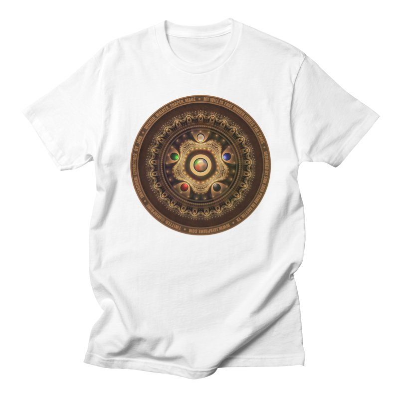 The Mox Fractal Jeweled Colors of Magic the Gathering Women's Regular Unisex T-Shirt by The Fractal Art of San Jaya Prime