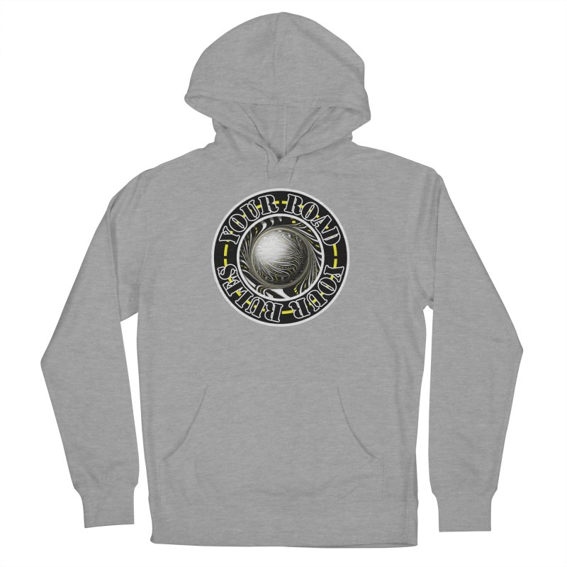 Travel Lover's Motto of Your Road, Your Rules Women's French Terry Pullover Hoody by The Fractal Art of San Jaya Prime