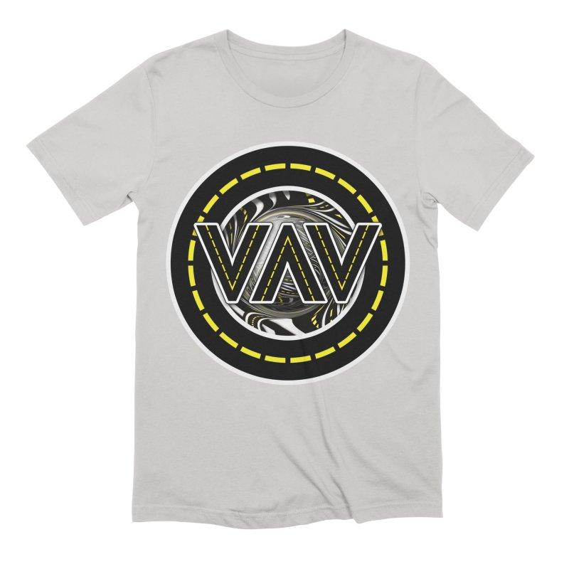 The Fractal Roads of Vans and Villains in VanLife Men's Extra Soft T-Shirt by The Fractal Art of San Jaya Prime