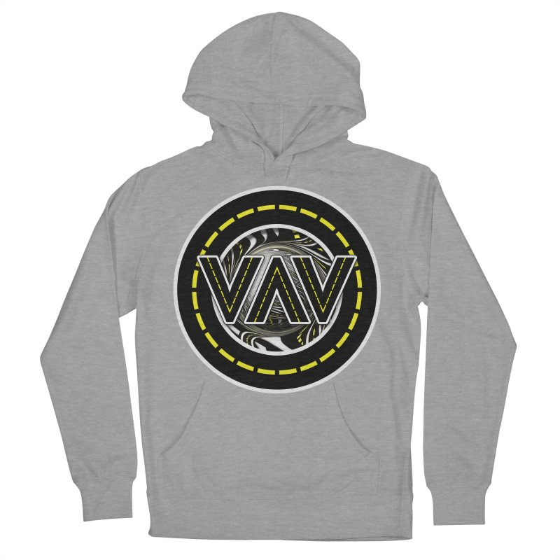 The Fractal Roads of Vans and Villains in VanLife Men's French Terry Pullover Hoody by The Fractal Art of San Jaya Prime