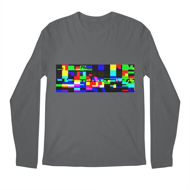 Franchise Glitch Men's Longsleeve T-Shirt by Franchise Merchandise