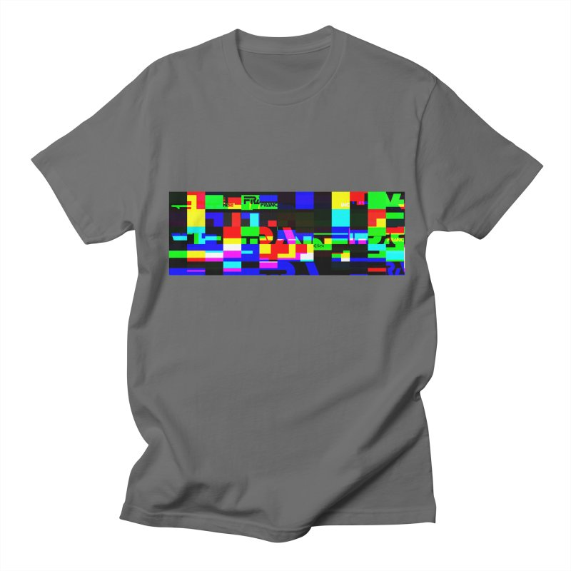 Franchise Glitch Men's T-Shirt by Franchise Merchandise