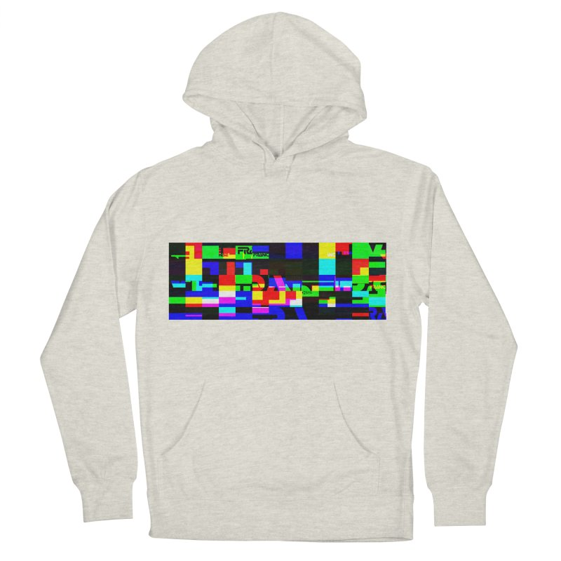 Franchise Glitch Men's French Terry Pullover Hoody by Franchise Merchandise