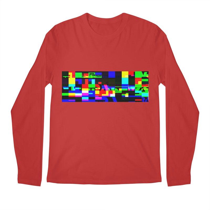 Franchise Glitch Men's Regular Longsleeve T-Shirt by Franchise Merchandise