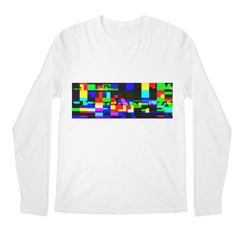 Franchise Glitch Men's Regular Longsleeve T-Shirt by Franchise Merchandise