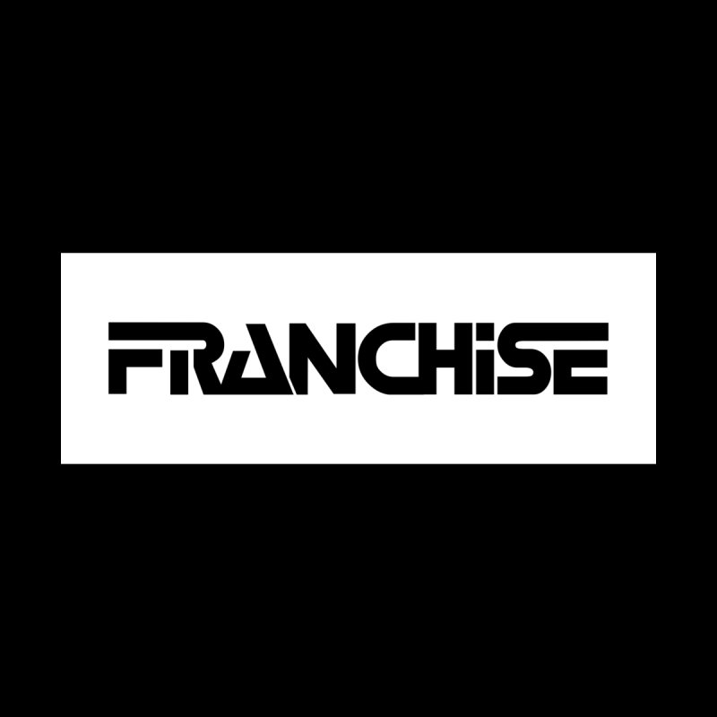 Franchise with White Border Men's T-Shirt by Franchise Merchandise