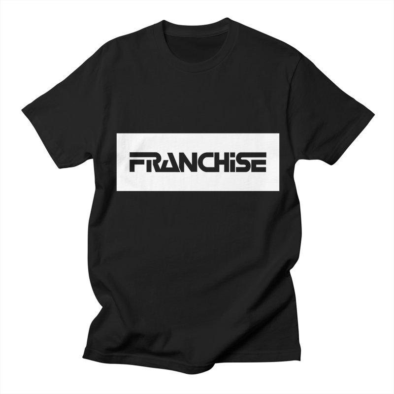 Franchise with White Border Men's T-Shirt by Franchise Merchandise
