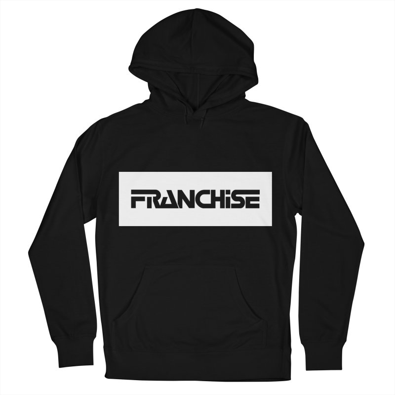 Franchise with White Border Men's French Terry Pullover Hoody by Franchise Merchandise