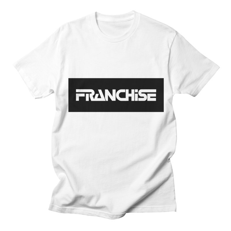 Franchise with Black Border Men's T-Shirt by Franchise Merchandise