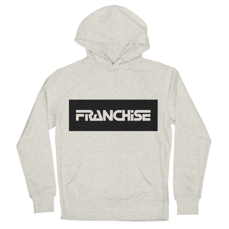 Franchise with Black Border Men's French Terry Pullover Hoody by Franchise Merchandise
