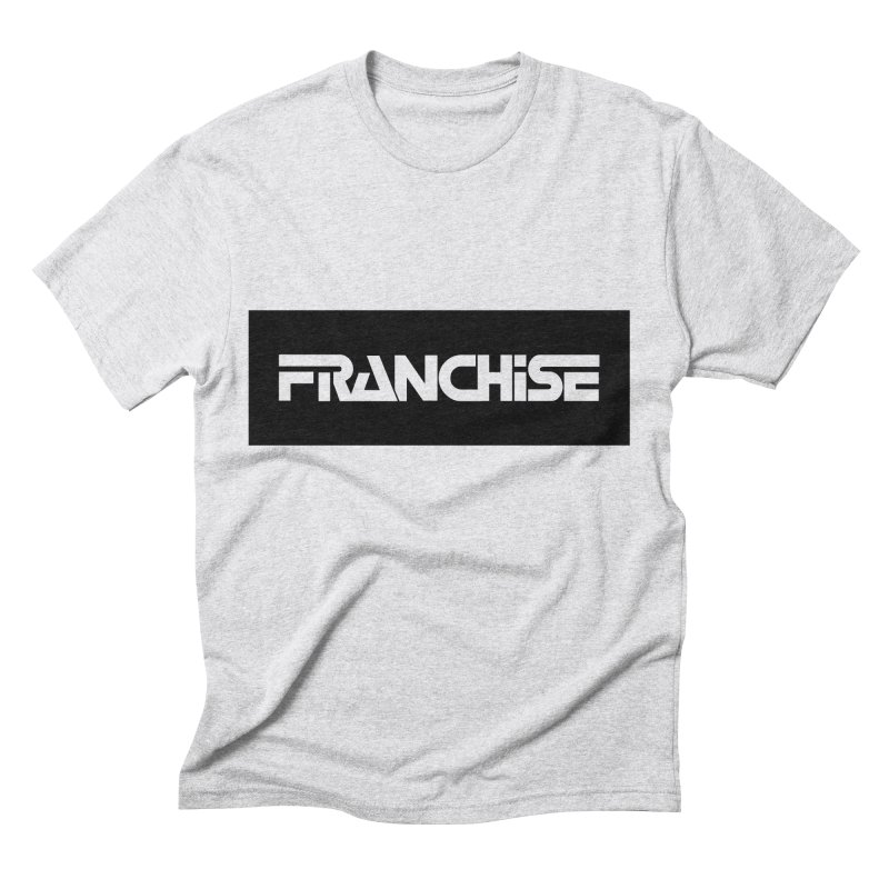 Franchise with Black Border Men's Triblend T-Shirt by Franchise Merchandise