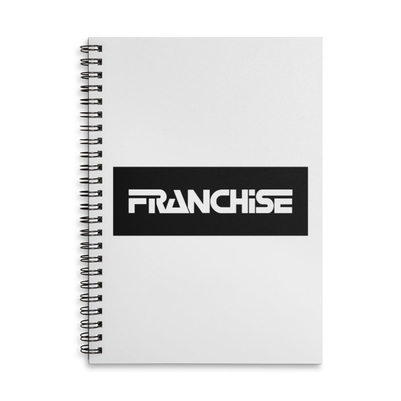 Franchise Accessories Accessories Lined Spiral Notebook by Franchise Merchandise