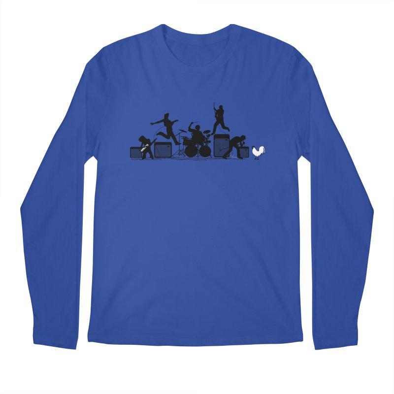 rock out Men's Longsleeve T-Shirt by francobolli's shop