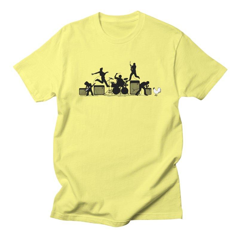 rock out Women's Regular Unisex T-Shirt by francobolli's shop
