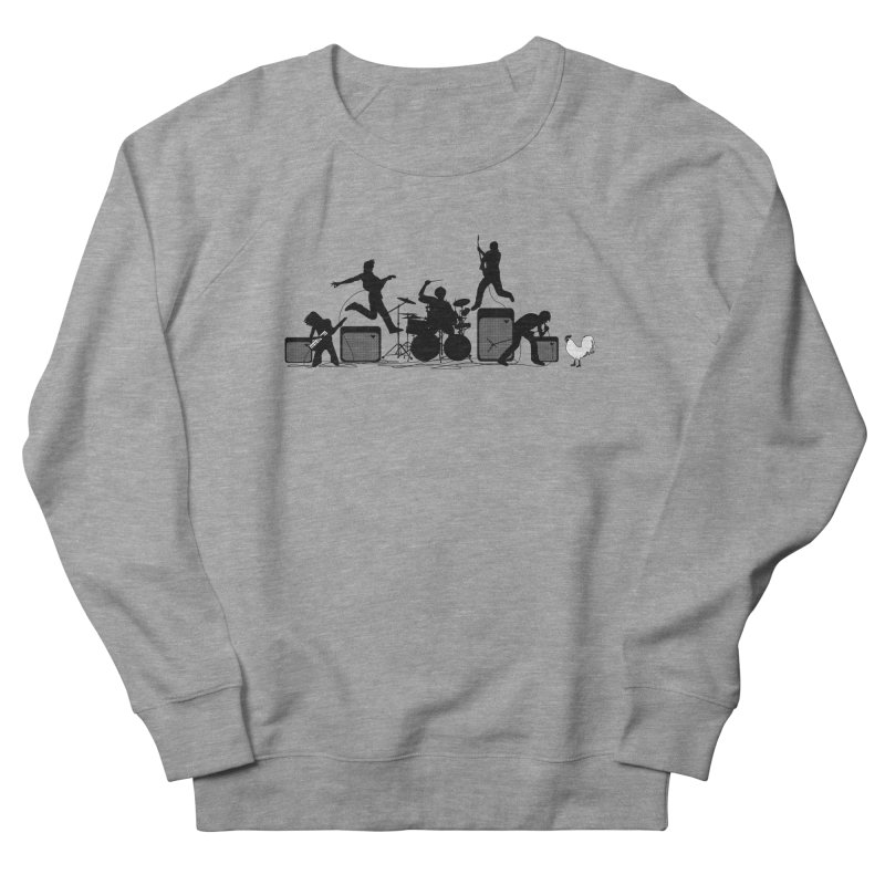 rock out Men's French Terry Sweatshirt by francobolli's shop