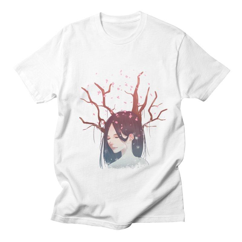 Spring Comes Again Men's T-Shirt by Fran Shop