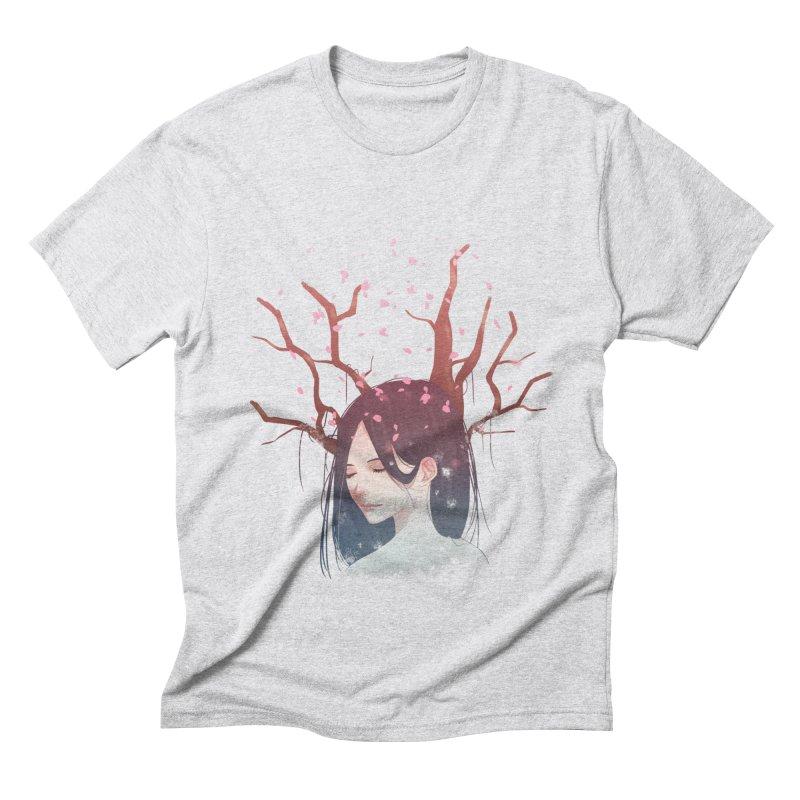 Spring Comes Again Men's Triblend T-shirt by Fran Shop