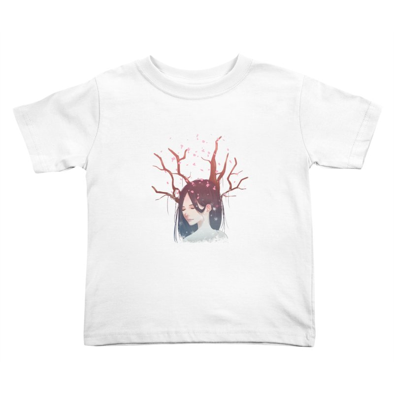 Spring Comes Again Kids Toddler T-Shirt by Fran Shop