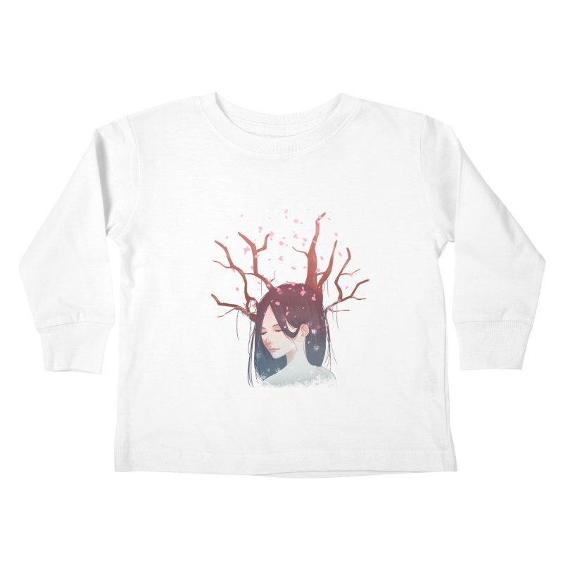 Spring Comes Again Kids Toddler Longsleeve T-Shirt by Fran Shop