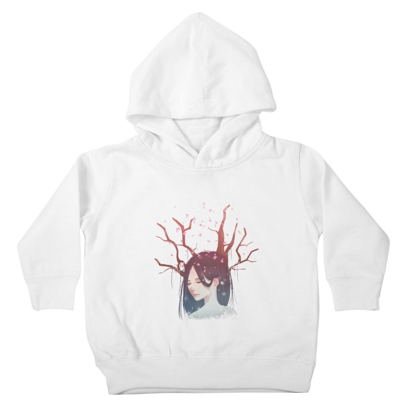 Spring Comes Again Kids Toddler Pullover Hoody by Fran Shop