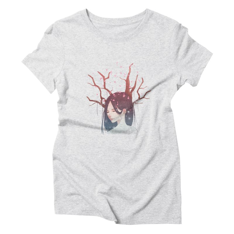 Spring Comes Again Women's Triblend T-shirt by Fran Shop
