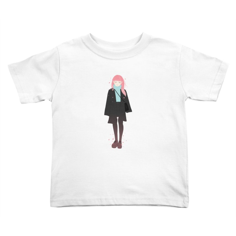 Flowers Bloom Again Kids Toddler T-Shirt by Fran Shop