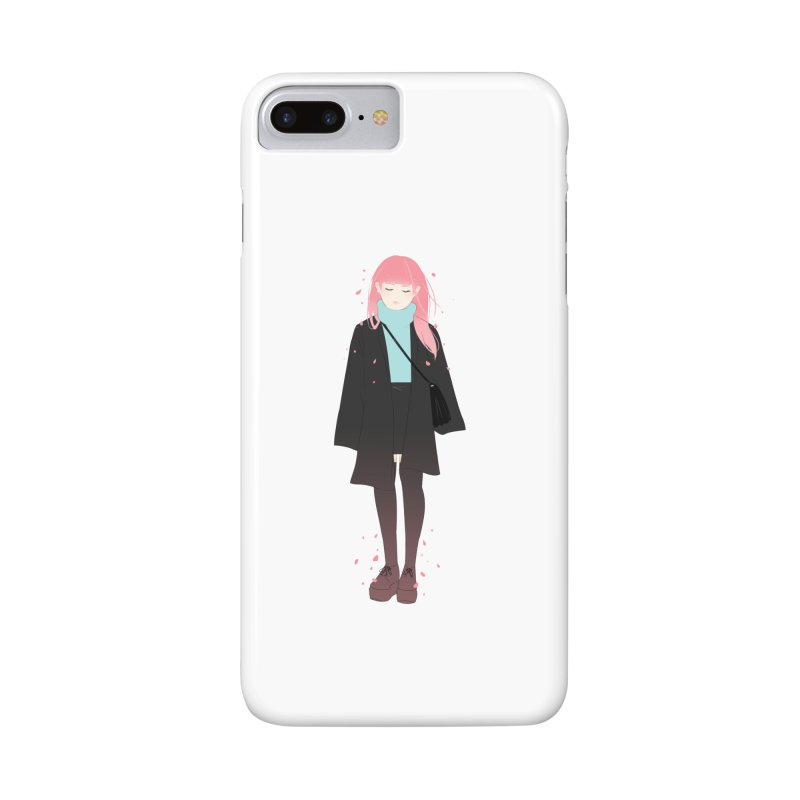 Flowers Bloom Again Accessories Phone Case by Fran Shop