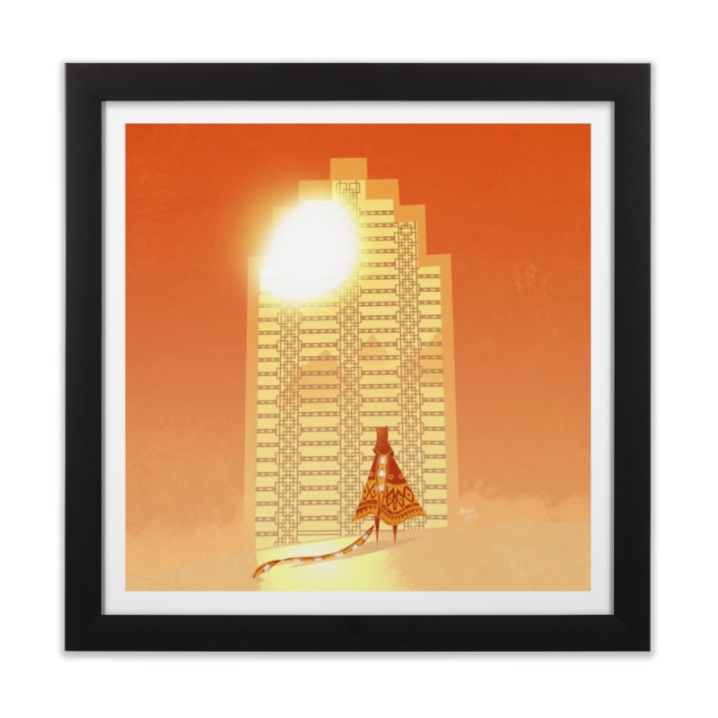 Journey Home Framed Fine Art Print by Fran Shop