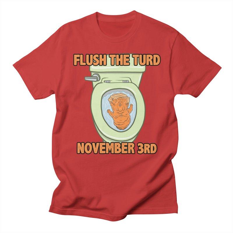 Flush the Turd November Third! Men's Regular T-Shirt by Frankenstein's Artist Shop