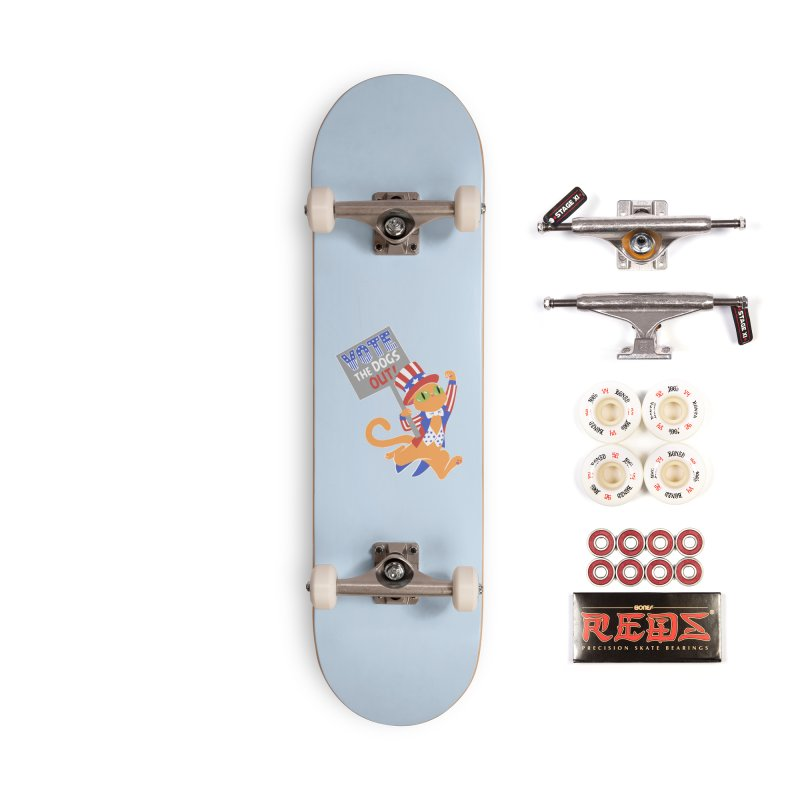 Vote Cat Accessories Complete - Pro Skateboard by Frankenstein's Artist Shop