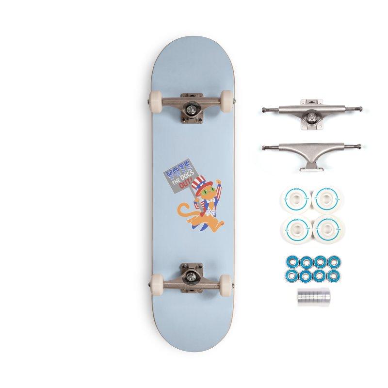 Vote Cat Accessories Complete - Basic Skateboard by Frankenstein's Artist Shop