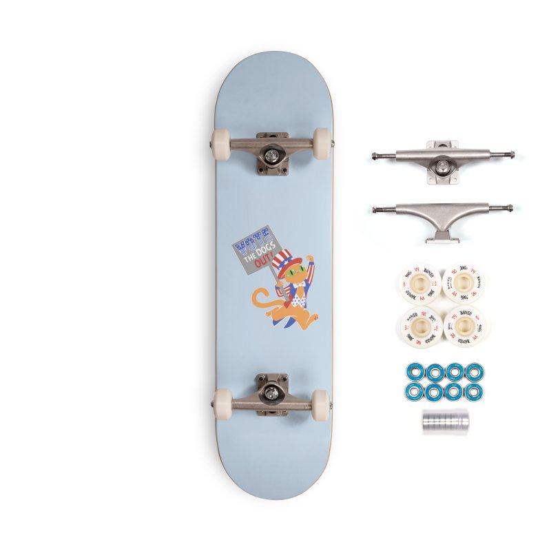Vote Cat Accessories Complete - Premium Skateboard by Frankenstein's Artist Shop