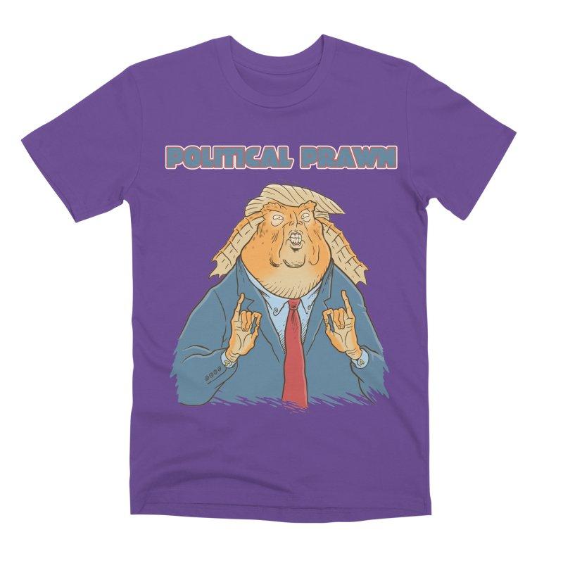 Political Prawn (Jar Jar Trump) Men's Premium T-Shirt by Frankenstein's Artist Shop