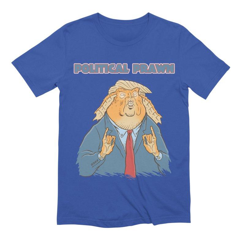 Political Prawn (Jar Jar Trump) Men's Extra Soft T-Shirt by Frankenstein's Artist Shop