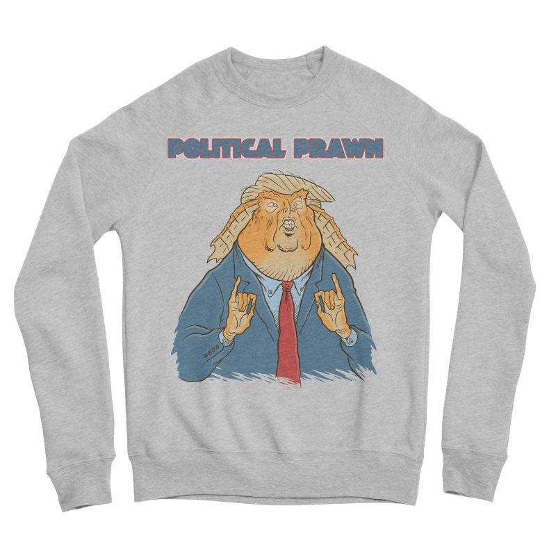 Political Prawn (Jar Jar Trump) Women's Sponge Fleece Sweatshirt by Frankenstein's Artist Shop