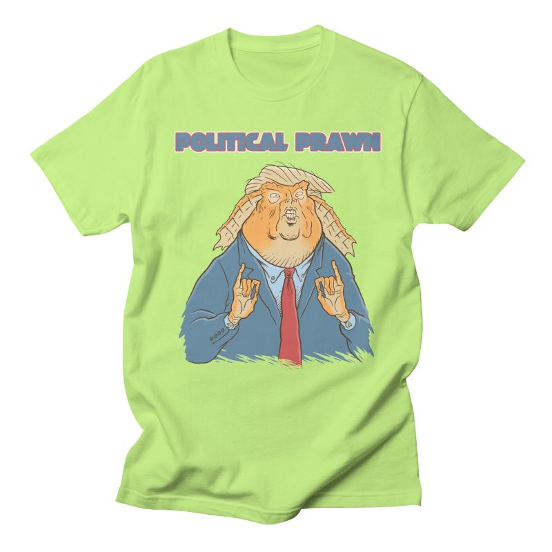 Political Prawn (Jar Jar Trump) Men's Regular T-Shirt by Frankenstein's Artist Shop