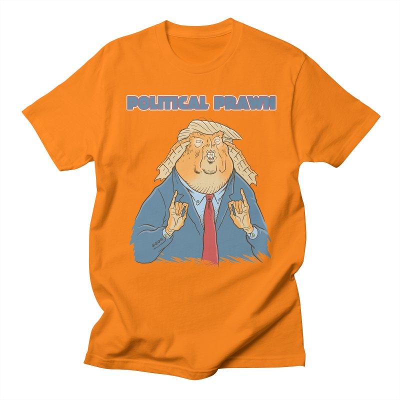 Political Prawn (Jar Jar Trump) Men's Regular T-Shirt by Frankenstein's Artist Shop