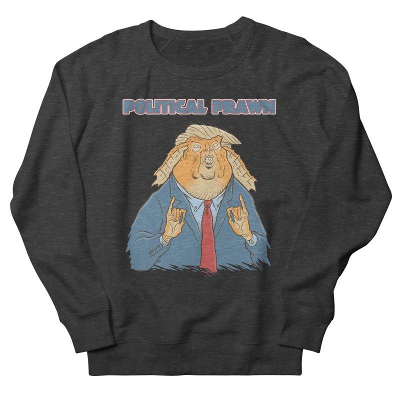 Political Prawn (Jar Jar Trump) Women's French Terry Sweatshirt by Frankenstein's Artist Shop