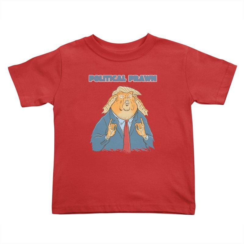 Political Prawn (Jar Jar Trump) Kids Toddler T-Shirt by Frankenstein's Artist Shop